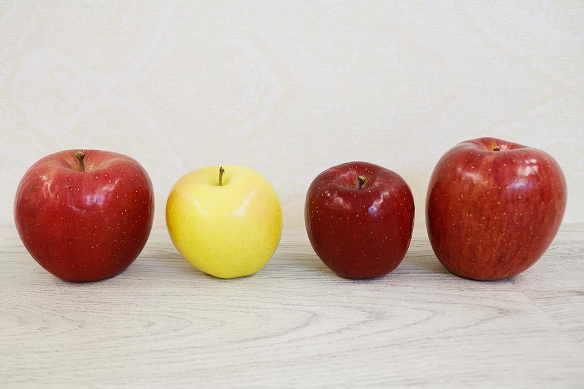 青森りんご4種