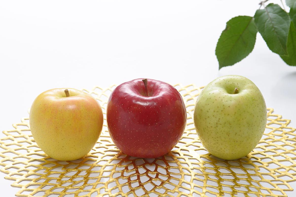 青森りんご3種