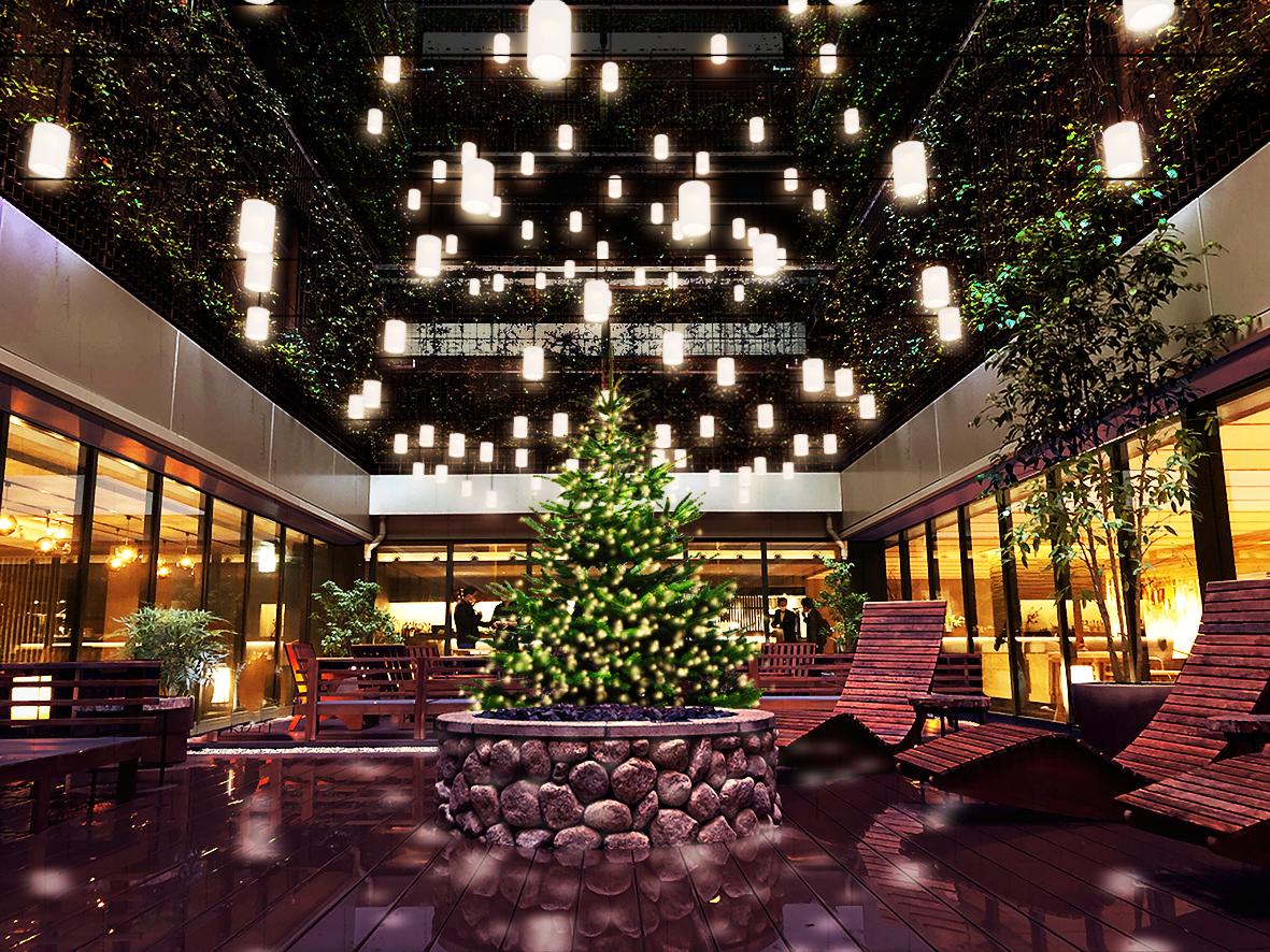 【京都イルミネーション】『グッドネイチャーステーション』のクリスマス