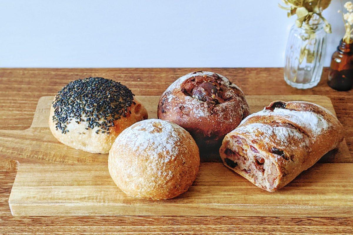 【南堀江】和をテーマに我が道を進む『パンや麦道』のもちもちパン
