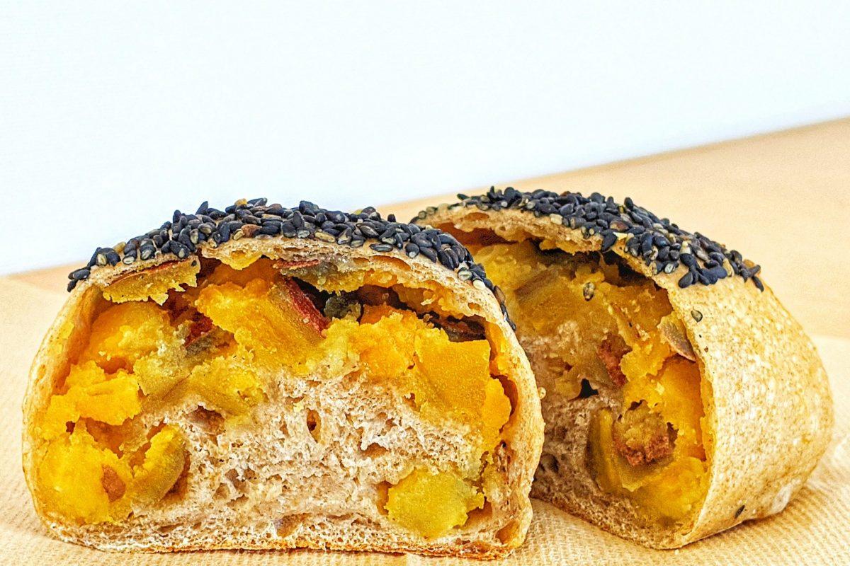 麦道安納芋パン