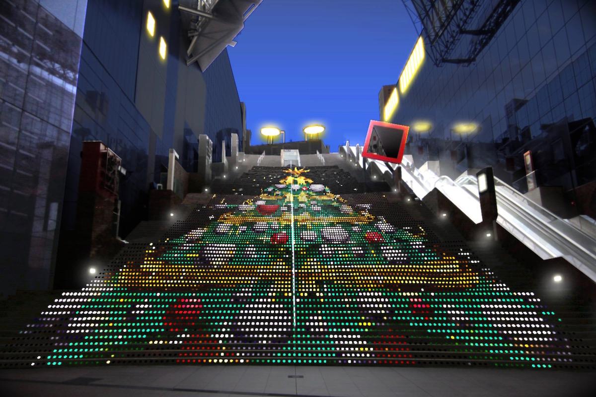 京都駅ビル 光のファンタジー2020