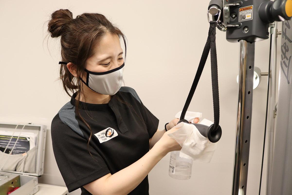 『トレーニングスタジオPOU』は新型コロナウイルス感染症対策も徹底