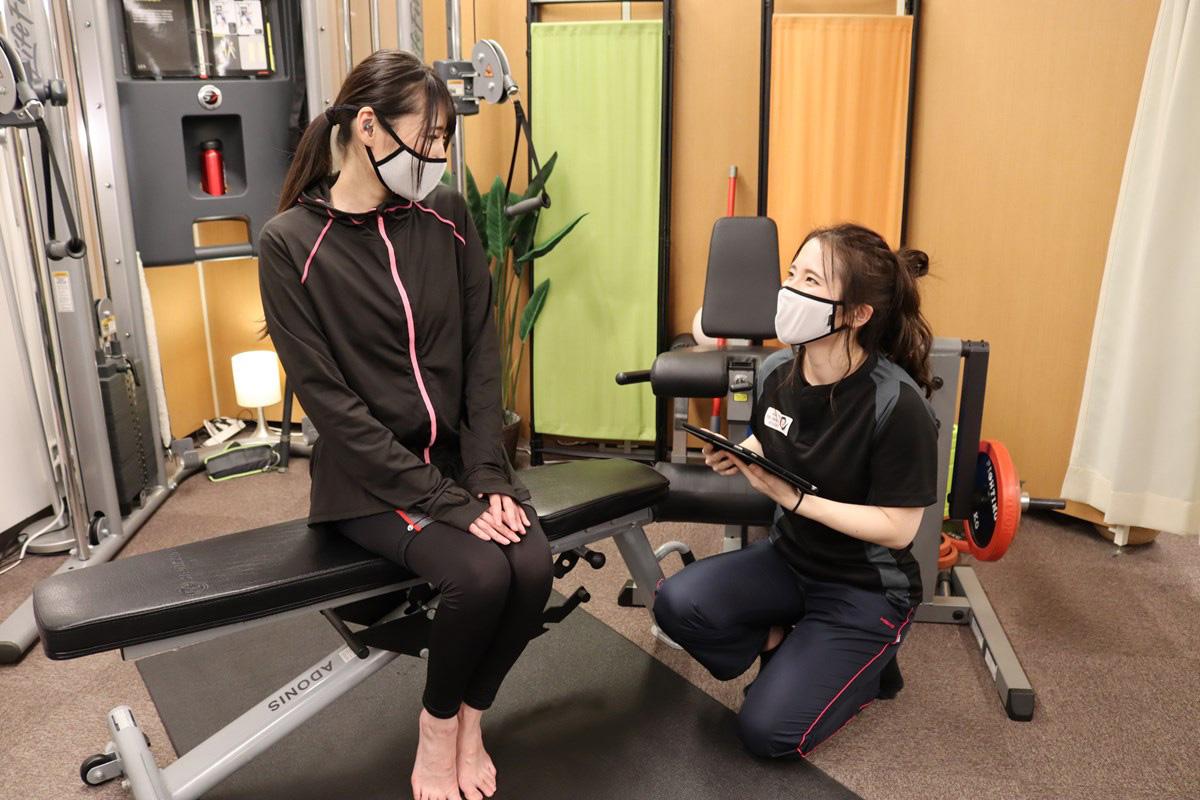 『トレーニングスタジオPOU』のEMSトレーニングは丁寧なヒアリングから