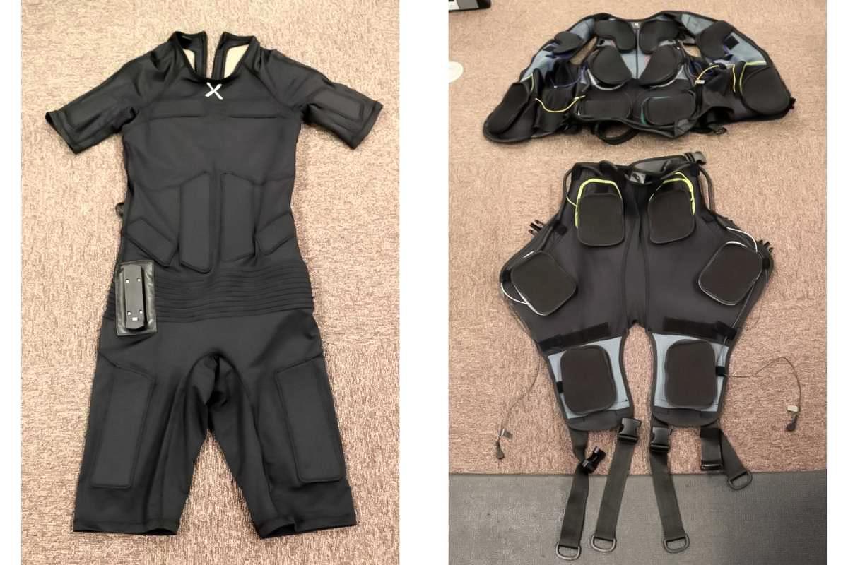 大阪梅田のトレーニングスタジオPOUはEMSトレーニングの際のボディスーツが2種類から選べます
