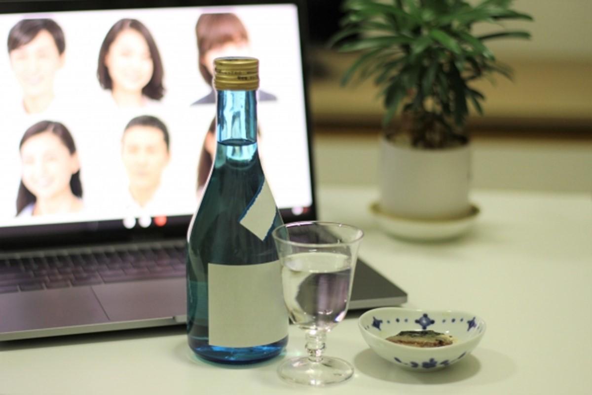 オンライン飲み会は少人数で