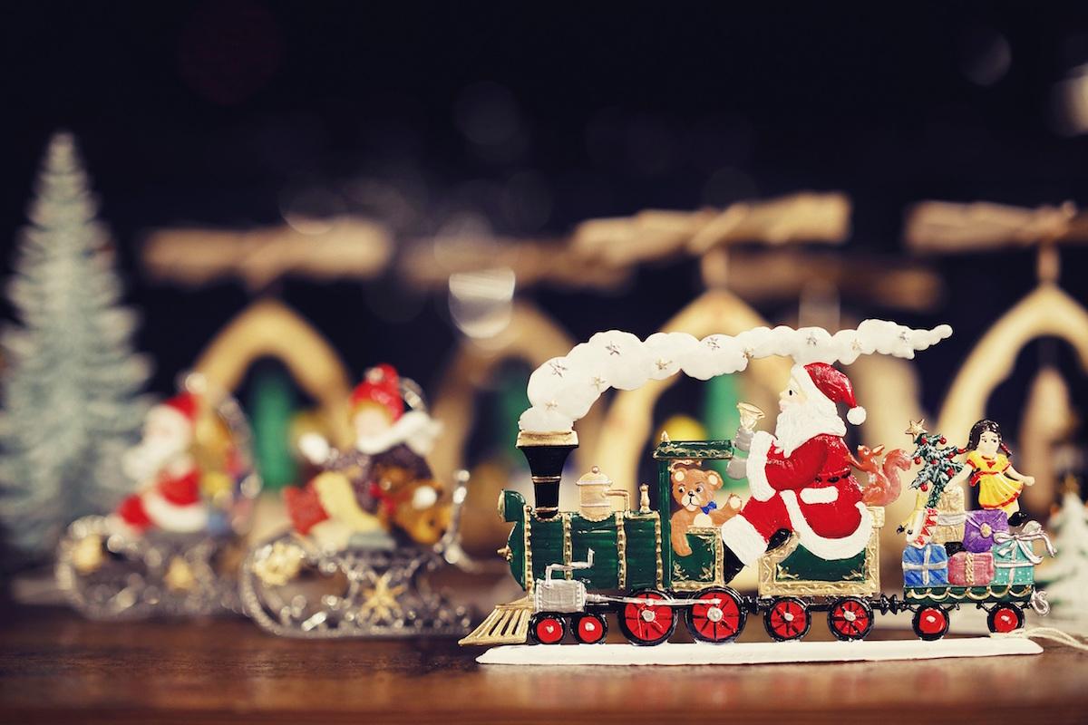 古城のクリスマス