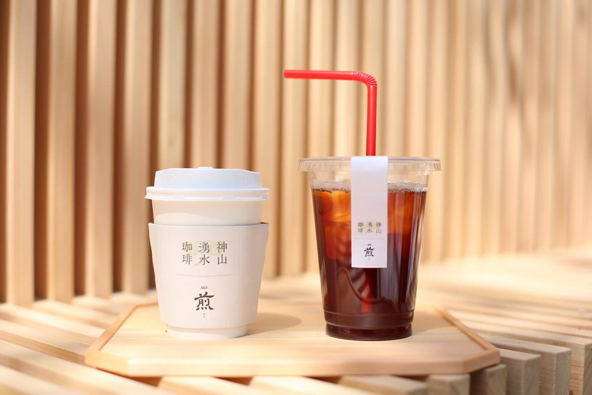 上賀茂神社のコーヒー