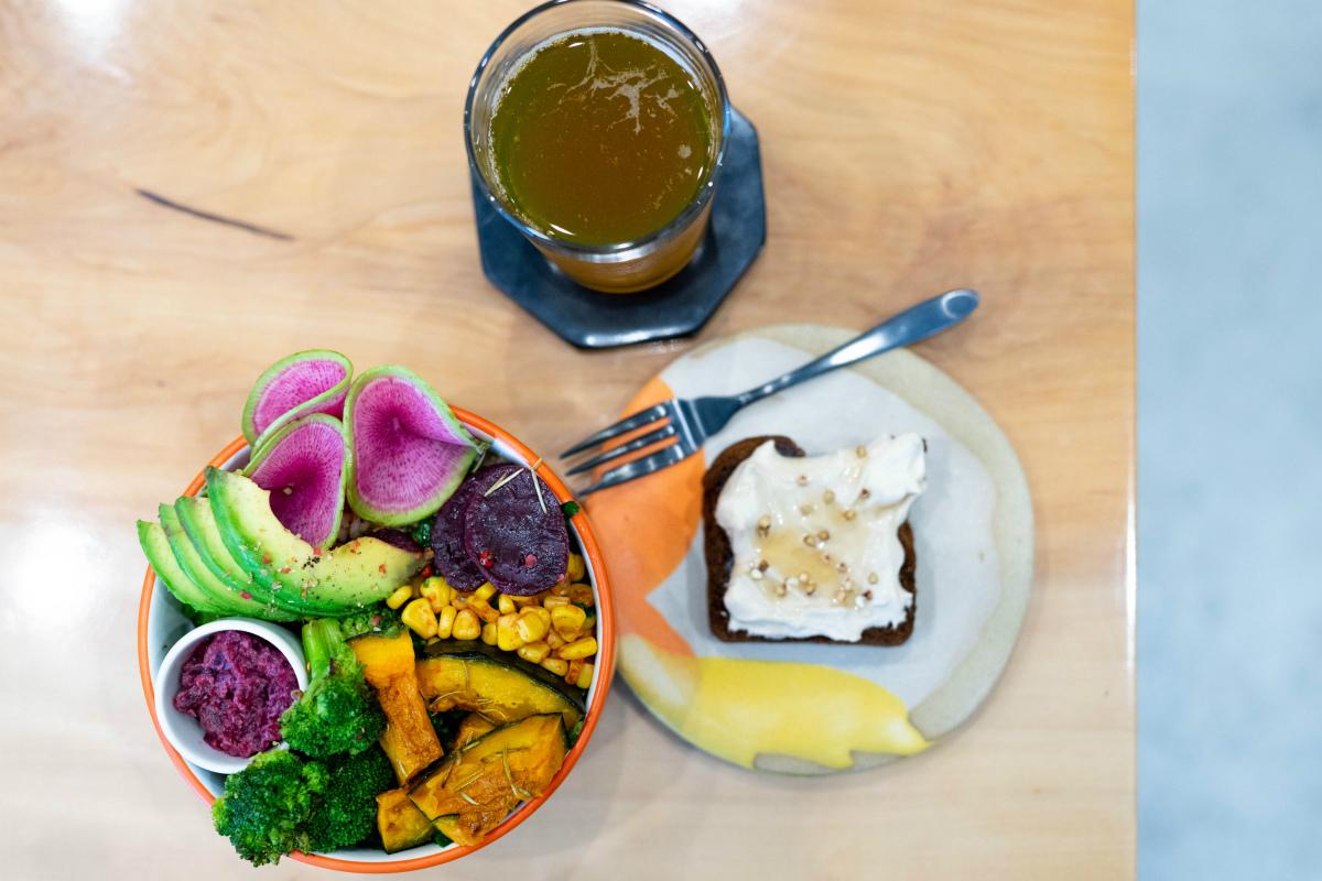 【桃谷】野菜たっぷり『my bowl』で体と心にエネルギーチャージ