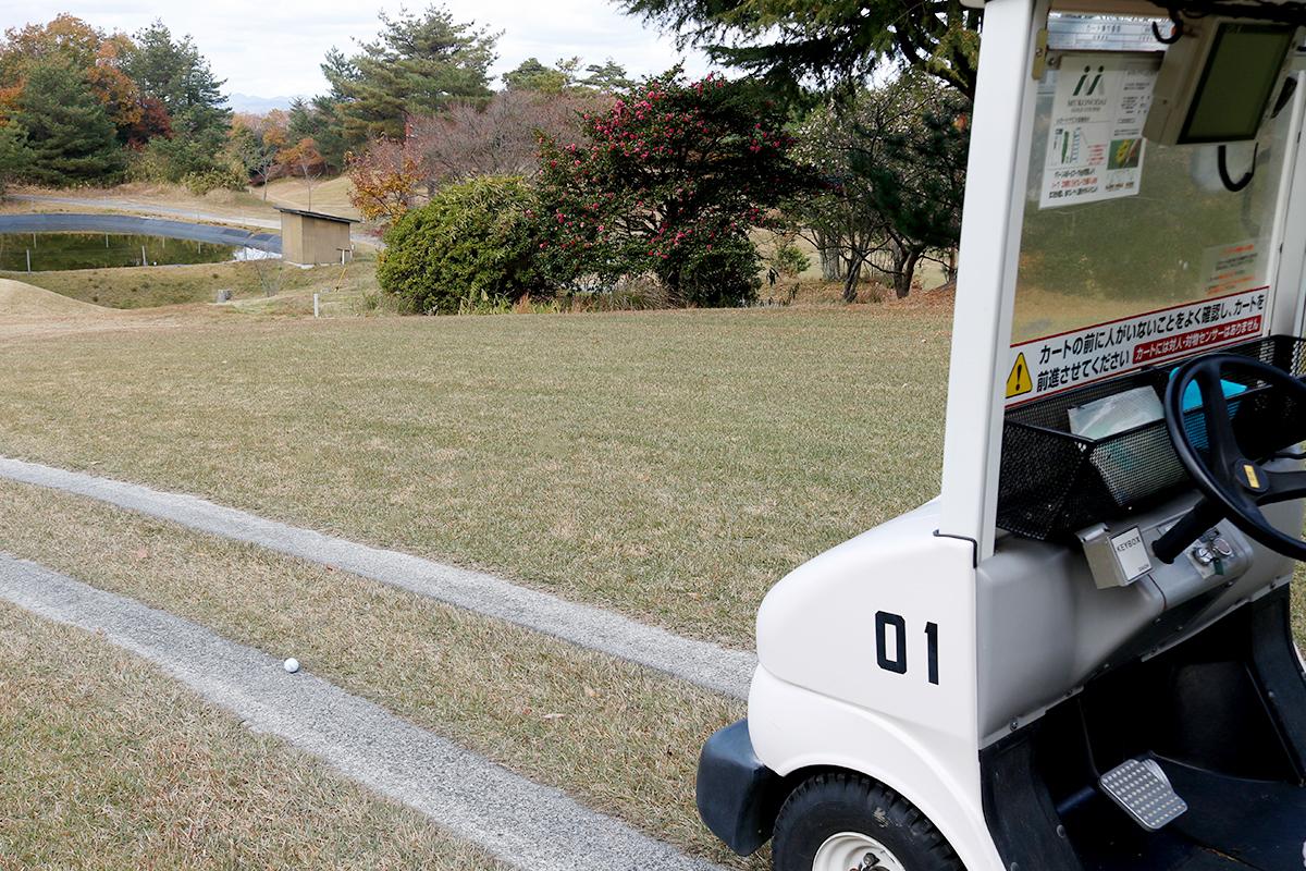 ゴルフカート道路