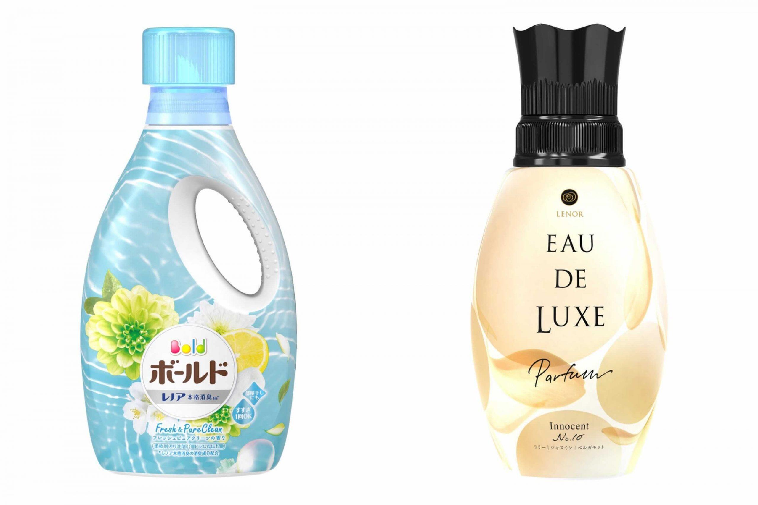 洗濯洗剤と柔軟剤を《いい香り重視》で組み合わせを選ぶなら