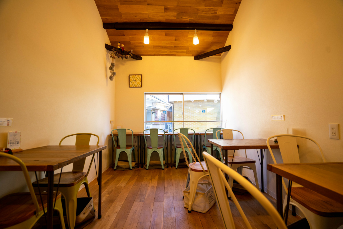 2Fのカフェスペース