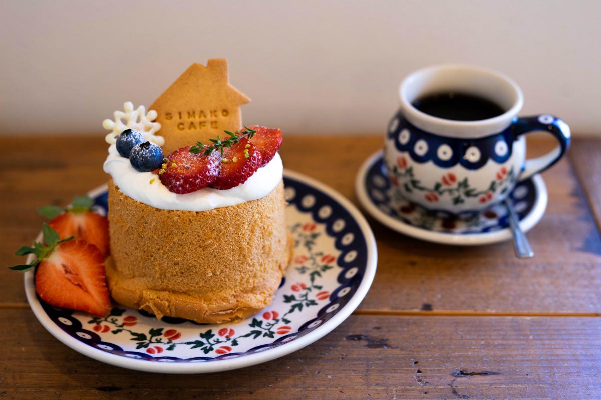【中崎町】むっちりふわふわの幸せ!『しまこカフェ』のシフォンに夢中