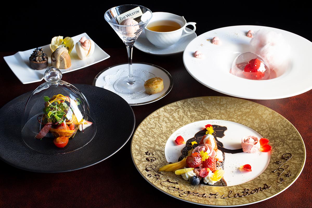 人気いちご「あまおう」のデザートコースが『ウェスティンホテル大阪』に登場