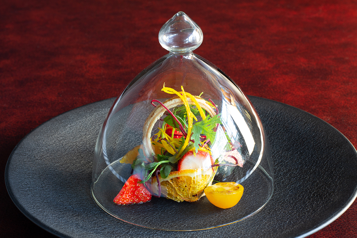 ウェスティンホテル大阪のデザートコース前菜