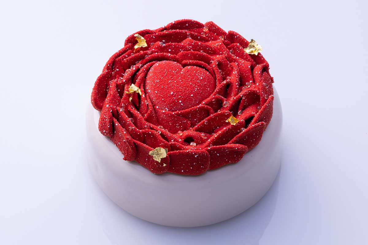 コンラッドのバレンタインケーキ
