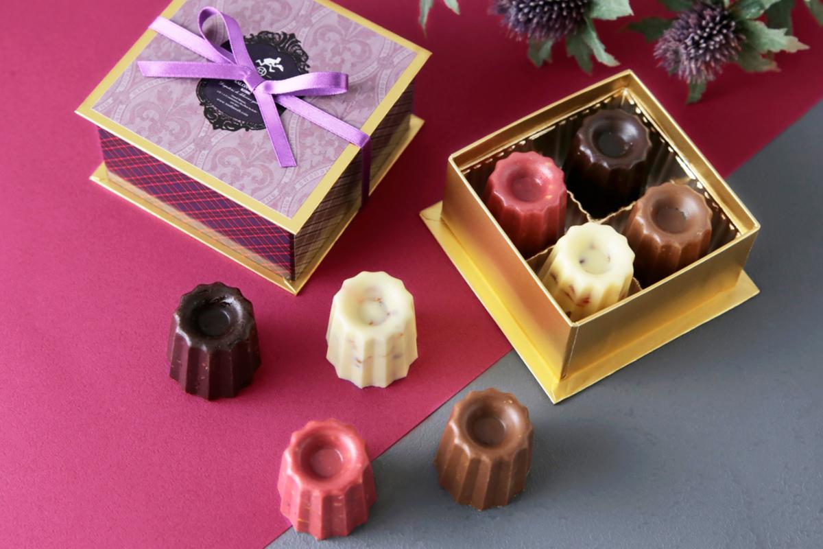 【神戸】カヌレ型ショコラが「PATISSERIE TOOTH TOOTH」に登場