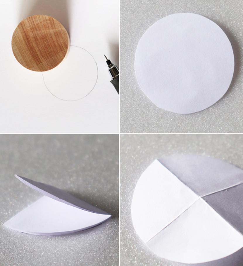 四つ折りの紙
