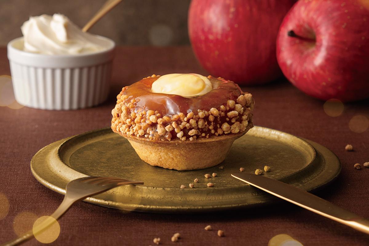 「BAKE CHEESE TART」から紅玉りんごを使用した限定タルトが新登場