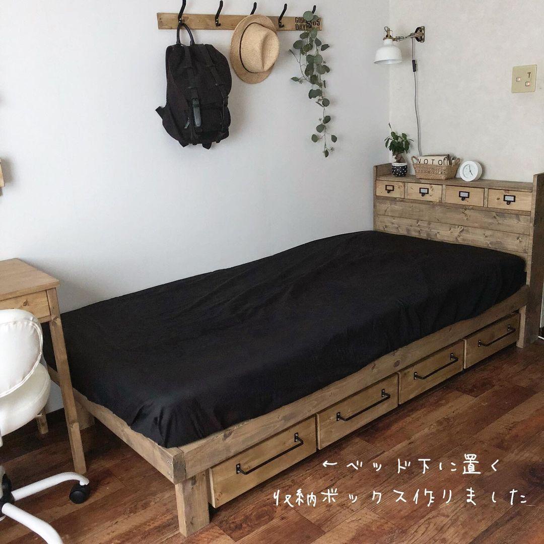 本収納のポイント_ソファーやベッド下に収納