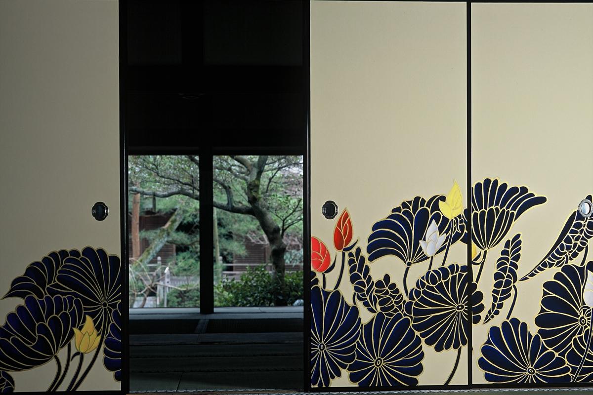 青蓮院門跡の襖絵