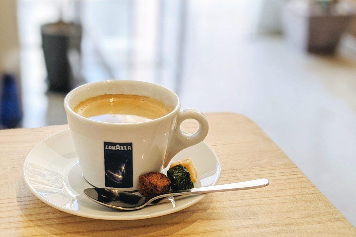 パンデシンプルホットコーヒー