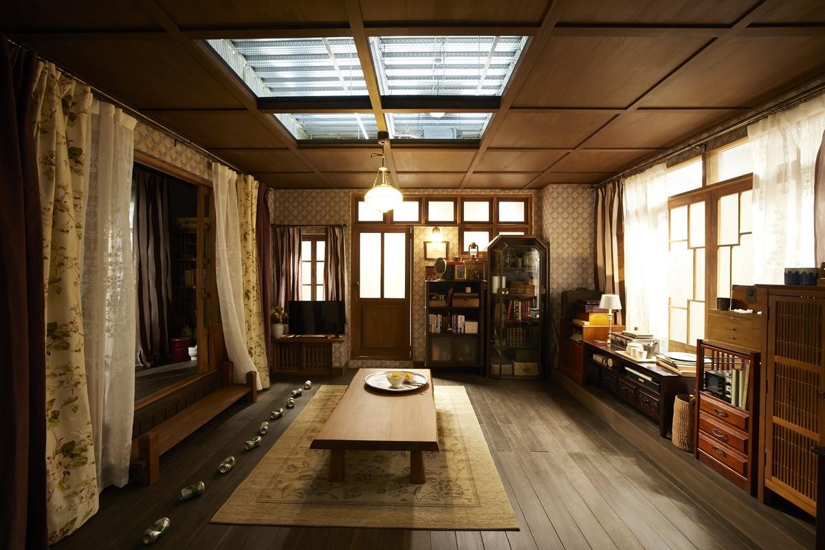 北朝鮮のジョンヒョクの家のリビング