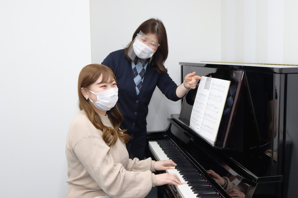 ピアノの個人レッスン