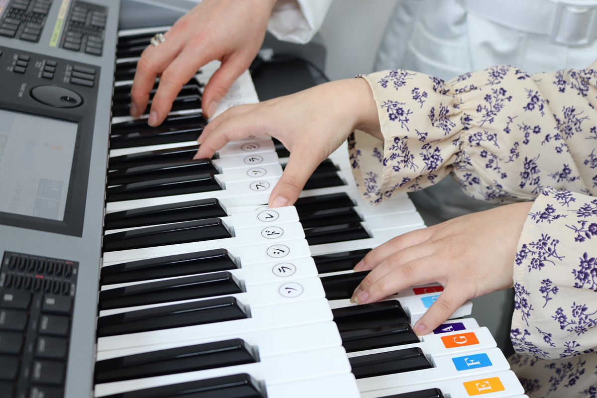 エレクトーンの鍵盤