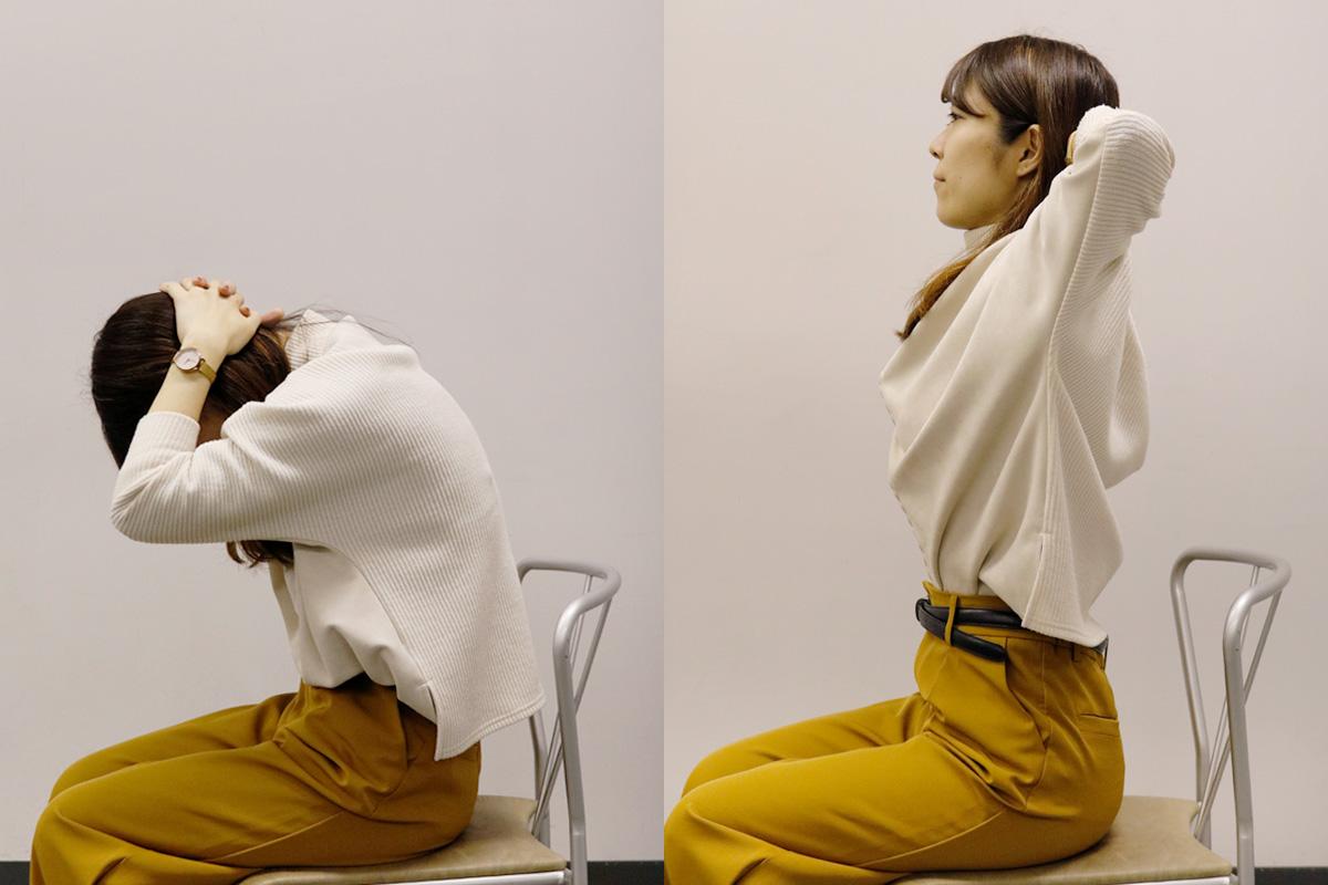 【簡単】肩甲骨はがしストレッチ!つらい肩こりをセルフで改善と予防