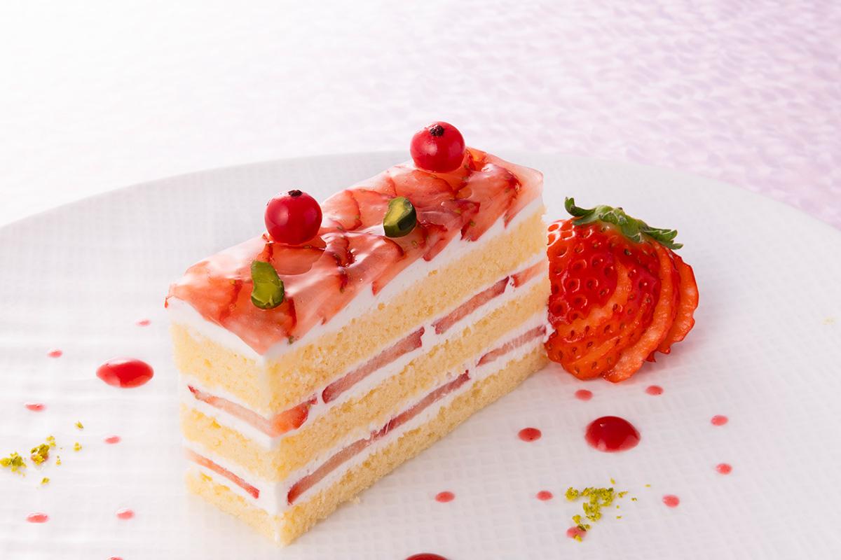 ホテルグランヴィア大阪のショートケーキ