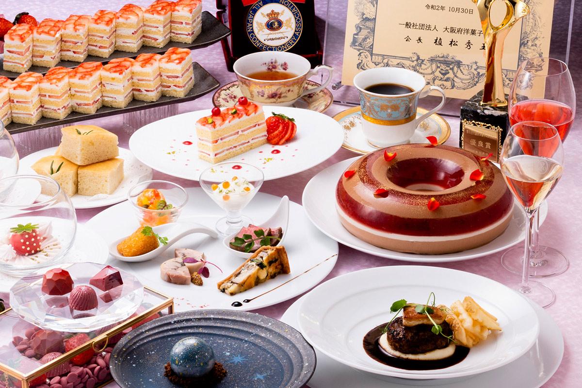 苺のショートケーキ食べ放題付き!贅沢コースがホテルグランヴィア大阪に登場