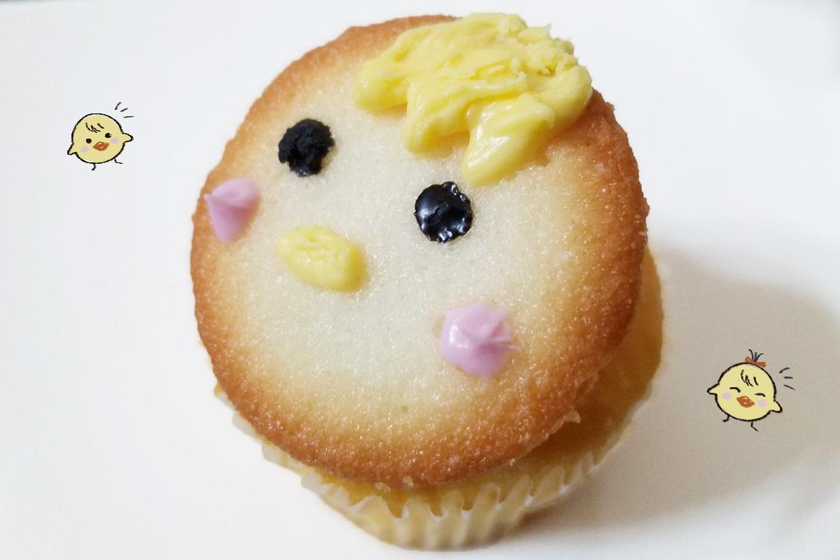 イースターにおすすめのひよこのカップケーキ