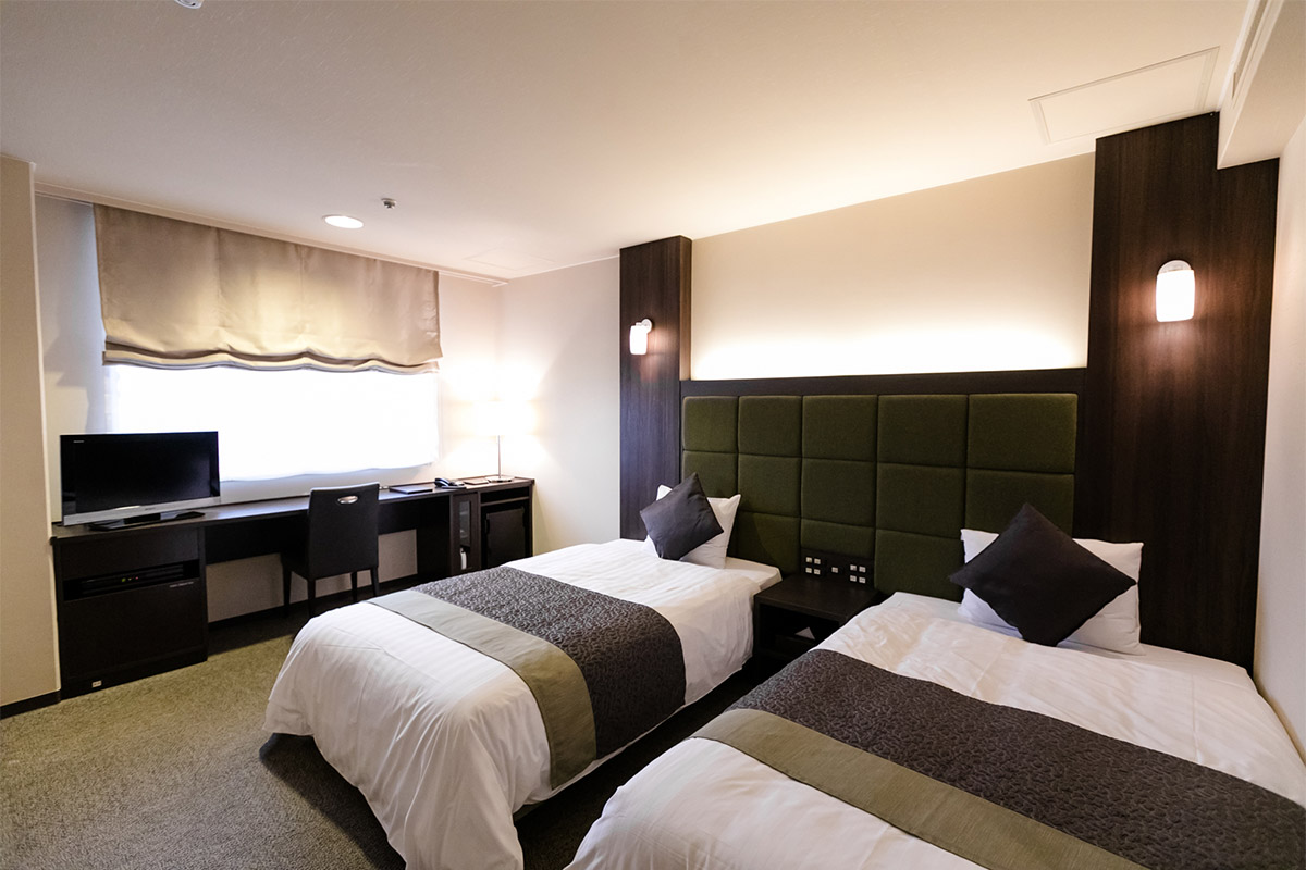 ホテルビナリオ嵯峨嵐山の客室