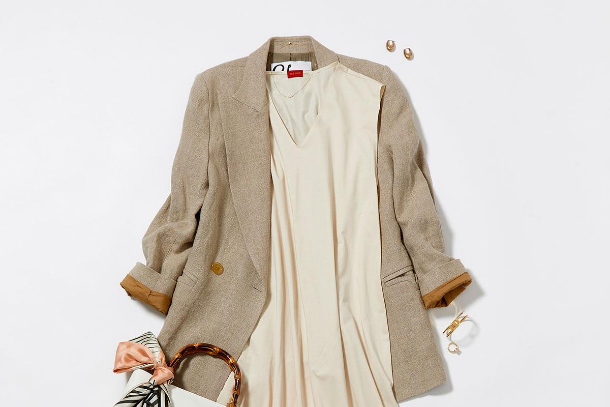 30代の「ジャケット×スカート」組み合わせ12選!春のオフィスカジュアル