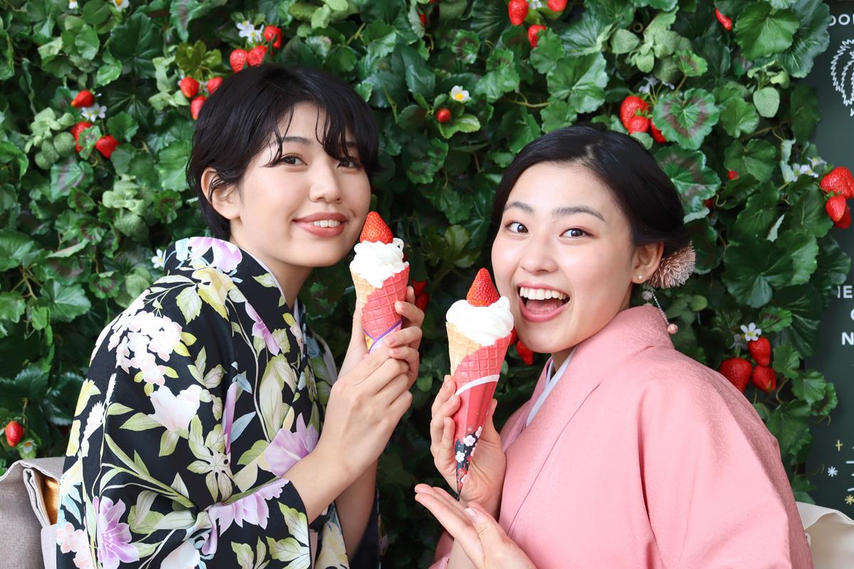 【3~4月】京都の春イベント!河原町でいちごと花を楽しむ春フェス開催