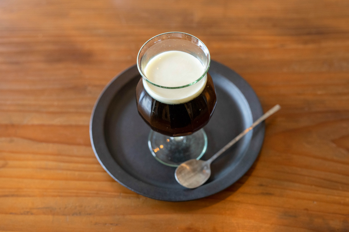 自家製コーヒーゼリー