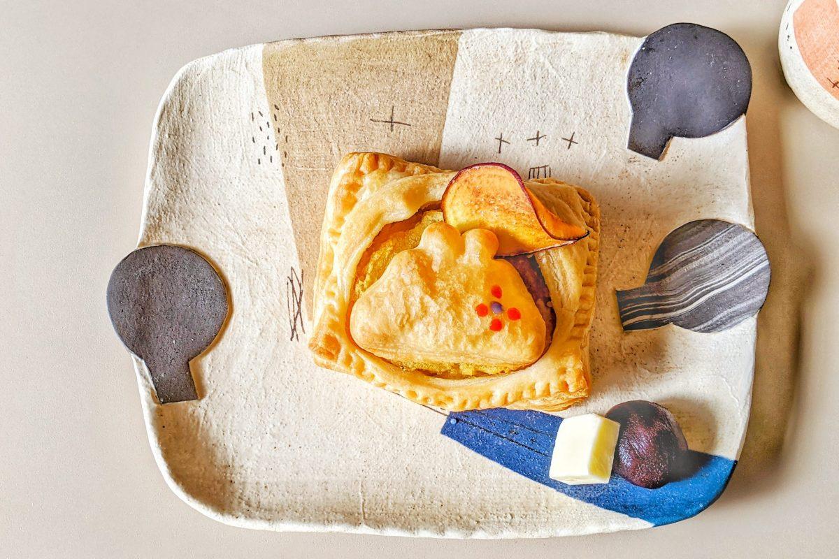 animoぷらすがま口焼き芋パイ