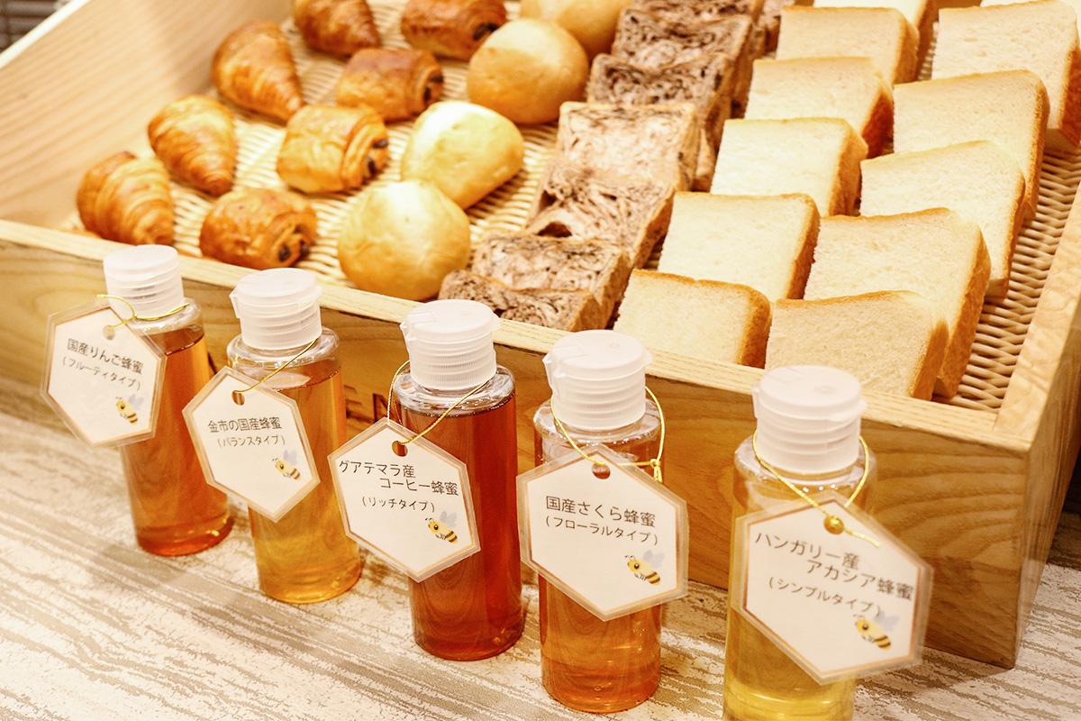 ミールミィの蜂蜜5種