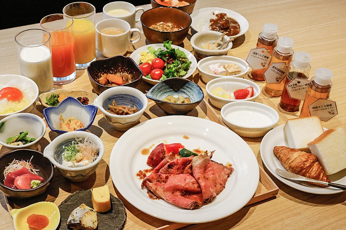 【大阪】ホテル朝食バイキングに高級食パン「高匠」や神戸牛の贅沢メニュー登場