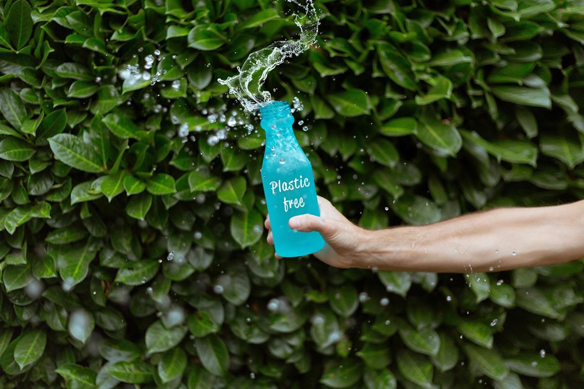プラスチックフリーのボトル
