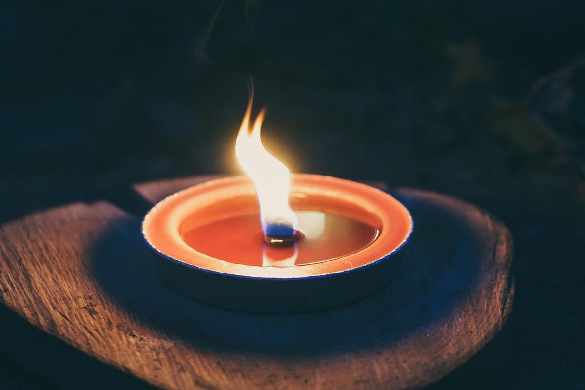 キャンドルの炎