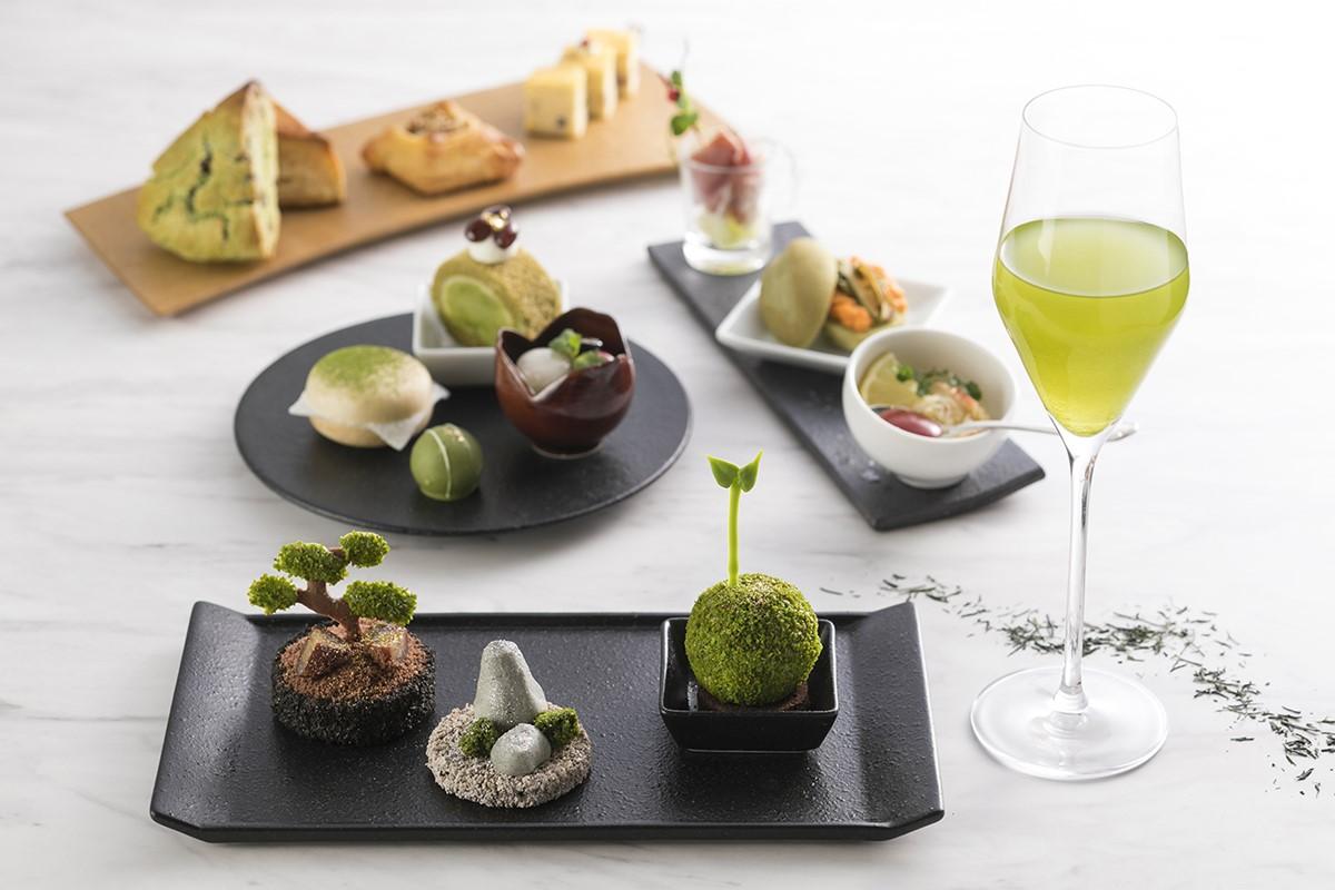 スイスホテル南海大阪「八女茶が主役のアフタヌーンティー」5月より!