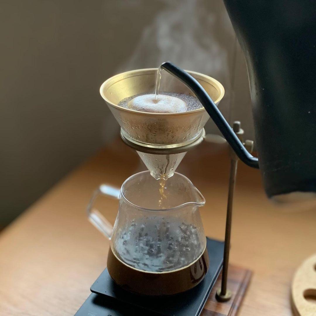 コーヒー用のステンレスフィルター