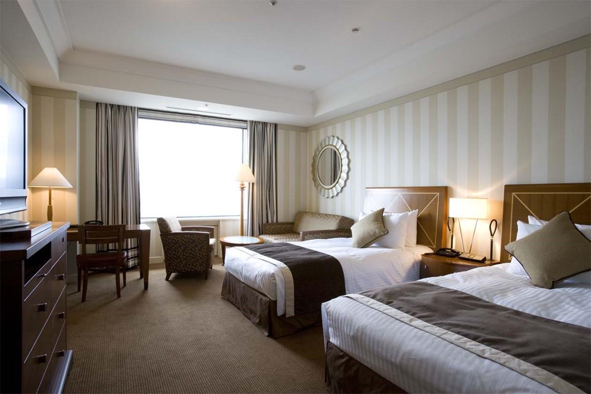 帝国ホテル大阪の長期滞在プランで使用できる客室とは