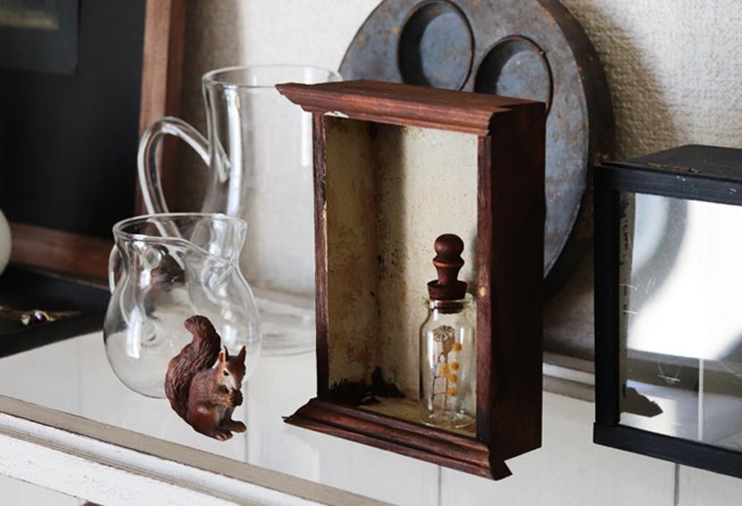 【DIY連載】100均木製トレイとモールディングで!フレンチシックな飾り箱