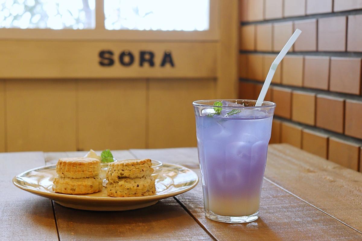 【天六】心地よさ満点「ハーブカフェSORA」のハーブティーでホッと一息