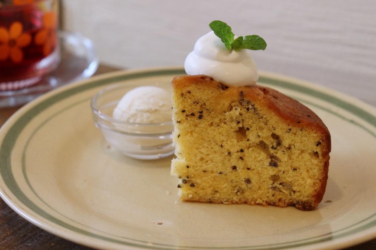 ラベンダーミルクティーケーキ