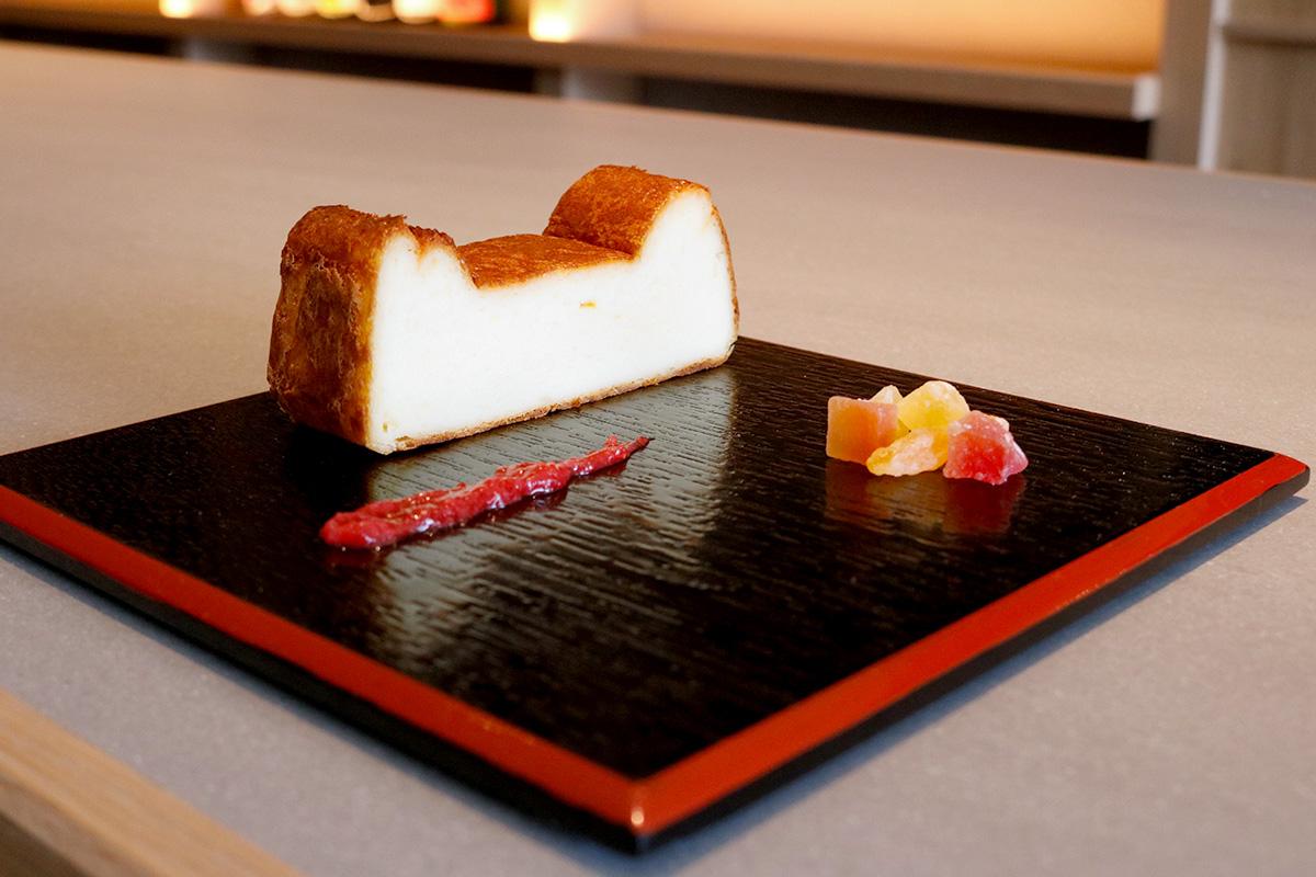 日本酒のチーズケーキ