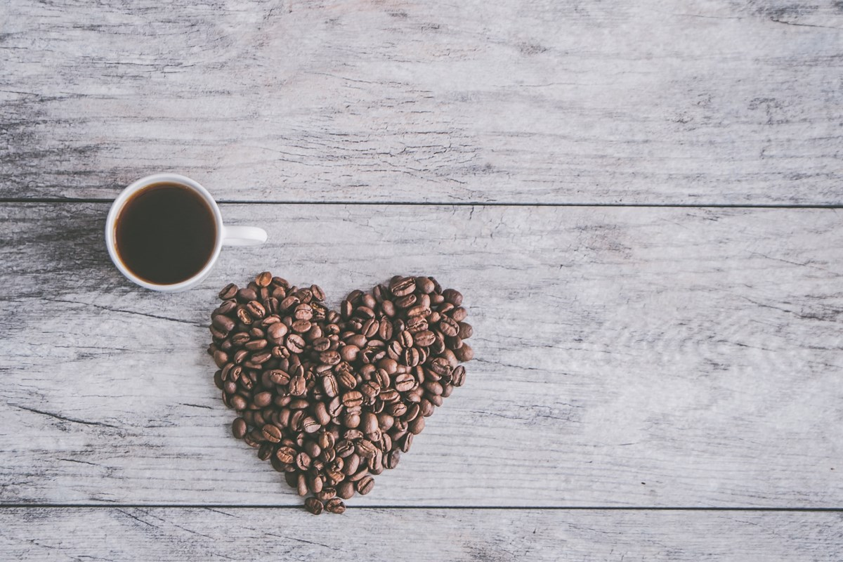 お気に入りのコーヒー豆で抽出したコーヒー
